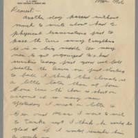 1942-10-20 Lloyd Davis to Laura Davis Page 1