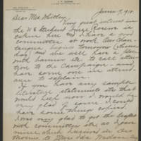 1918-06-17 Correspondence from Anna to Mrs. Whitley