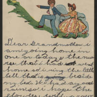 Mary Frances Whitley to Mrs. Francis E. Whitley Page 1