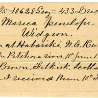 Clinton Mellen Jones, egg card # 118