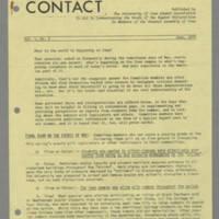 Campus /Capitol Contact Vol. I, No. 5 Page 1