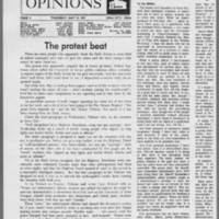 "1971-05-13 Daily Iowa Letters: """"Police and Protests"""" Page 1"