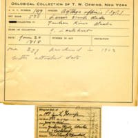 Thomas Wilmer Dewing, egg card # 112