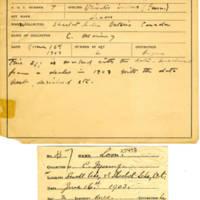 Thomas Wilmer Dewing, egg card # 008