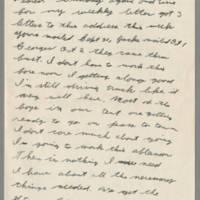 1943-10-17 Lloyd Davis to Laura Davis Page 1