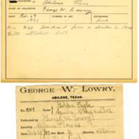 Thomas Wilmer Dewing, egg card # 234