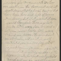 1918-01-15 Harvey Wertz to Mr. L.A. Wertz Page 3