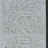 August 1852 letter Page 2
