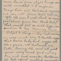 1918-08-23 Daphne Reynolds to Conger Reynolds Page 2
