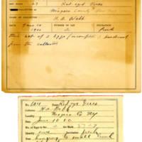 Thomas Wilmer Dewing, egg card # 505