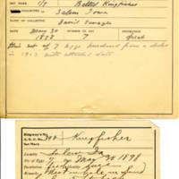 Thomas Wilmer Dewing, egg card # 644u