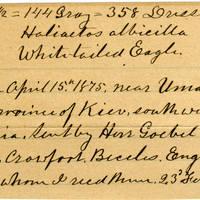 Clinton Mellen Jones, egg card # 159