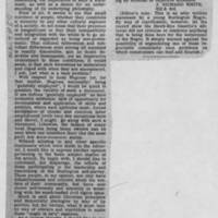"1950-05-20 Burlington Hawkeye Gazette Article: ""A Negro's Point of View"""
