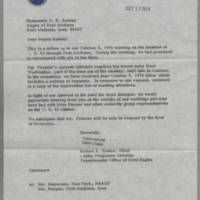 1974-10-17 Robert J. Coates to the Honorable E.R. Rainey