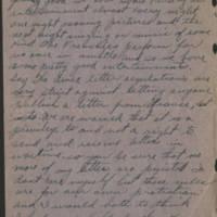 1918-05-22 Harvey Wertz to Miss Dorothy Wertz Page 3