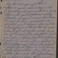 1918-05-22 Harvey Wertz to Miss Dorothy Wertz Page 1