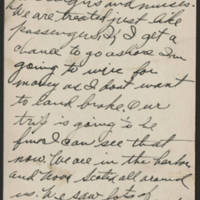 1917-12-21 Harvey Wertz to Mr. L.A. Wertz Page 2