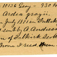 Clinton Mellen Jones, egg card # 069