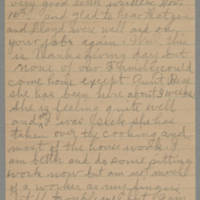 1945-11-22 Letter to Laura Frances Davis Page 1