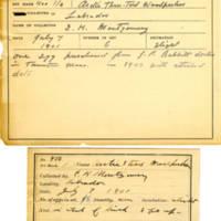 Thomas Wilmer Dewing, egg card # 288