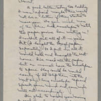 1943-01-14 Laura Davis to Lloyd Davis Page 1