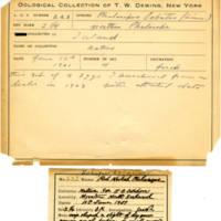 Thomas Wilmer Dewing, egg card # 165