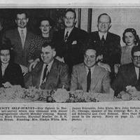 "Burlington Hawkeye Gazette Photograph: ""Head Community Self-Survey"""