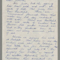 1943-06-10 Bessie Rector to Laura Frances Davis Page 1