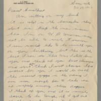1942-10-25 Lloyd Davis to Laura Davis