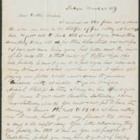 Croswell brothers letters, 1854-1856