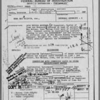 """1953-01-21 Omaha Field Office Report on Edna Griffin """"""""Save the Rosenbergs"""""""" campaign Page 1"""