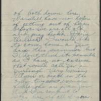 1918-06-10 Thomas Messenger to Mrs. Ress Wade Page 3