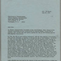 1970-06-23 Letter to Federal Highway Administration, Equal Opportunity Division