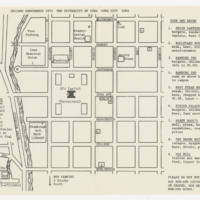 Chicano Conference 1975, Campus map
