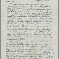 1944-04-10 Laura Davis to Lloyd Davis Page 1