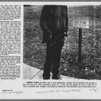 """1972-01-30 New York Times Magazine Article: """"""""Metamorphosis Of A Campus Radical"""""""" Page 6"""
