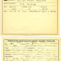 Thomas Wilmer Dewing, egg card # 446