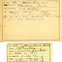 Thomas Wilmer Dewing, egg card # 230