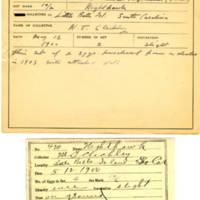 Thomas Wilmer Dewing, egg card # 316