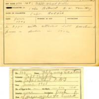 Thomas Wilmer Dewing, egg card # 122