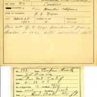 Thomas Wilmer Dewing, egg card # 651u