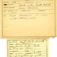 Thomas Wilmer Dewing, egg card # 106