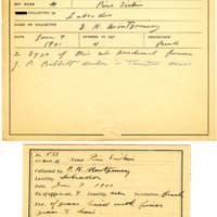 Thomas Wilmer Dewing, egg card # 429