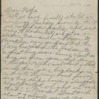 1917-10-18 Harvey Wertz to Mr. L.A. Wertz Page 1
