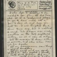 1944-03-31 Helen Fox to Bess Peebles Fox Page 2
