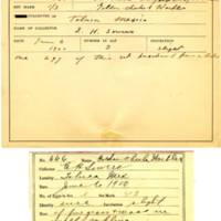 Thomas Wilmer Dewing, egg card # 534