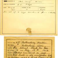 Thomas Wilmer Dewing, egg card # 515
