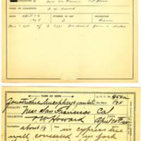 Thomas Wilmer Dewing, egg card # 441