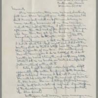 1941-12-15 Laura Davis to Lloyd Davis Page 1
