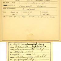 Thomas Wilmer Dewing, egg card # 730u